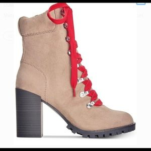 Material girl boots-Timberland inspired
